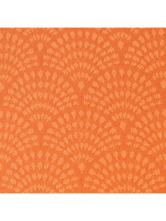 Кассетные рулонные шторы Benthin М Ажур оранжевый