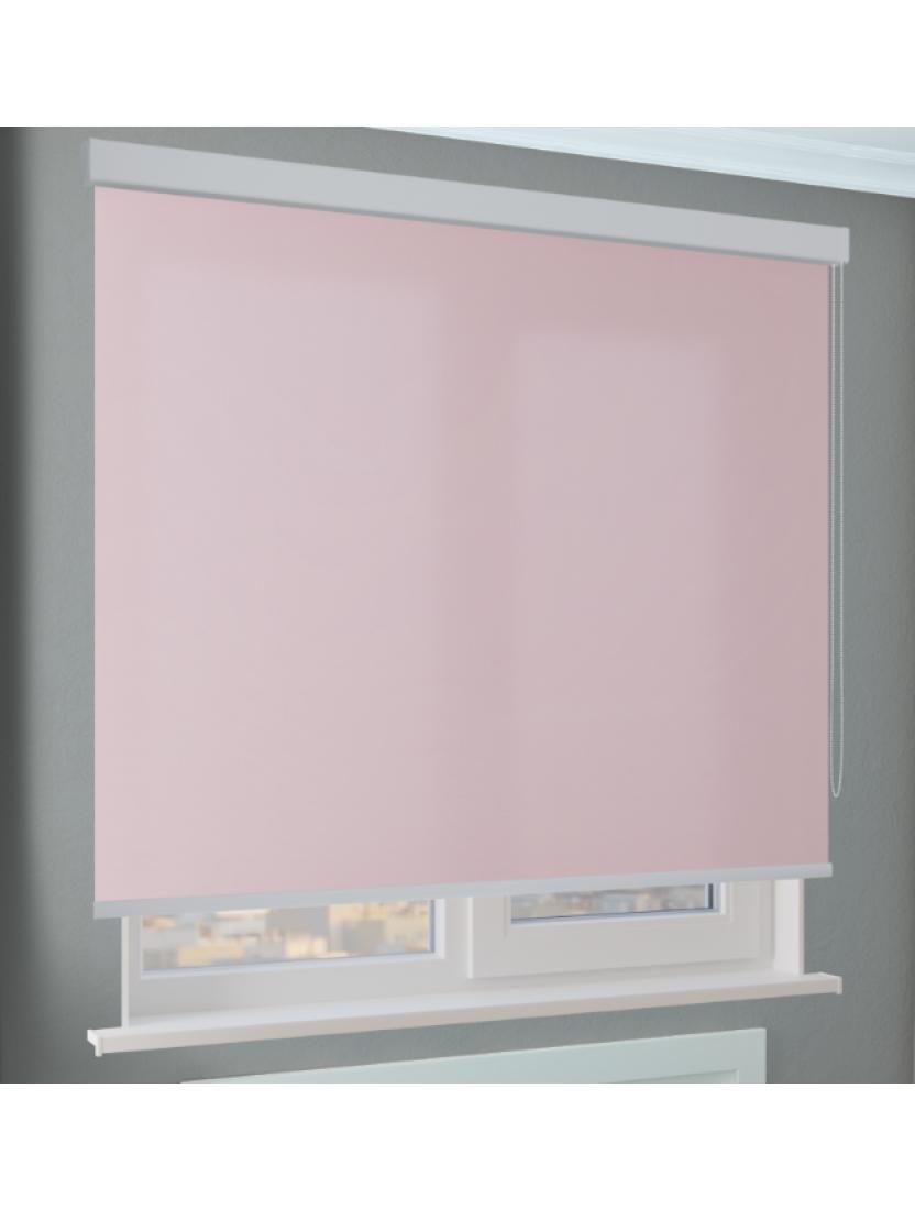 Кассетные рулонные шторы Benthin М Альфа розовый