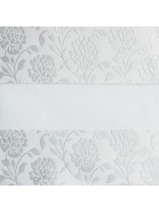 Рулонные жалюзи Зебра Уни-2 Персия белый