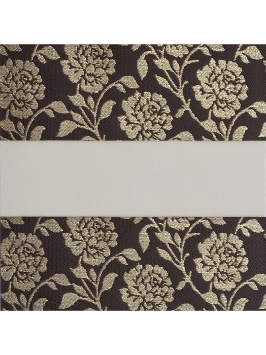 Рулонные жалюзи Зебра Уни-2 Персия коричневый