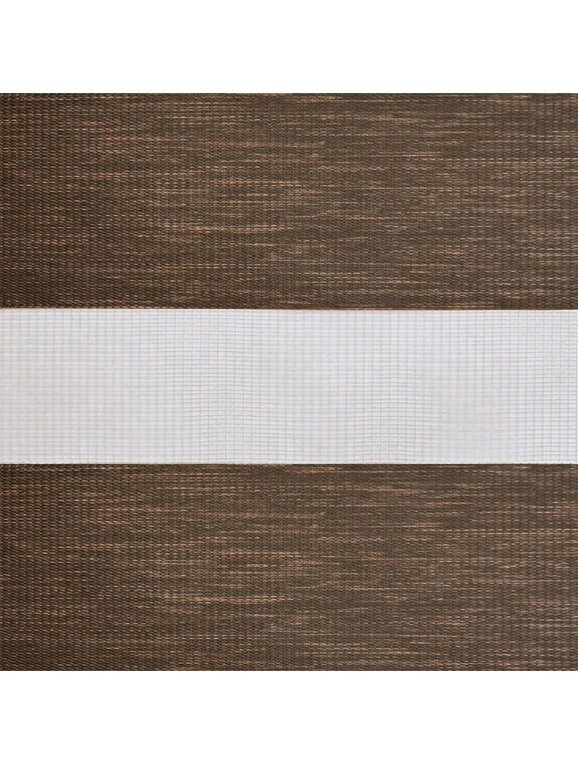 Кассетные шторы Зебра Benthin М Сахара темно-коричневый
