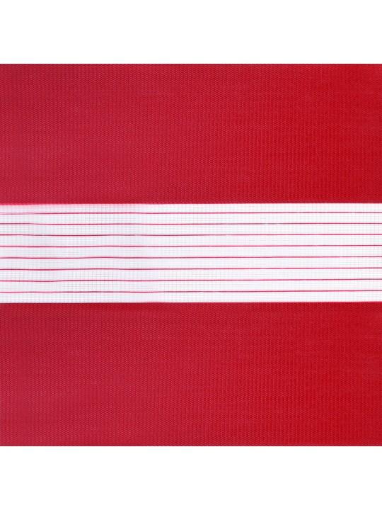 Рулонные жалюзи Зебра Уни-2 Стандарт красный