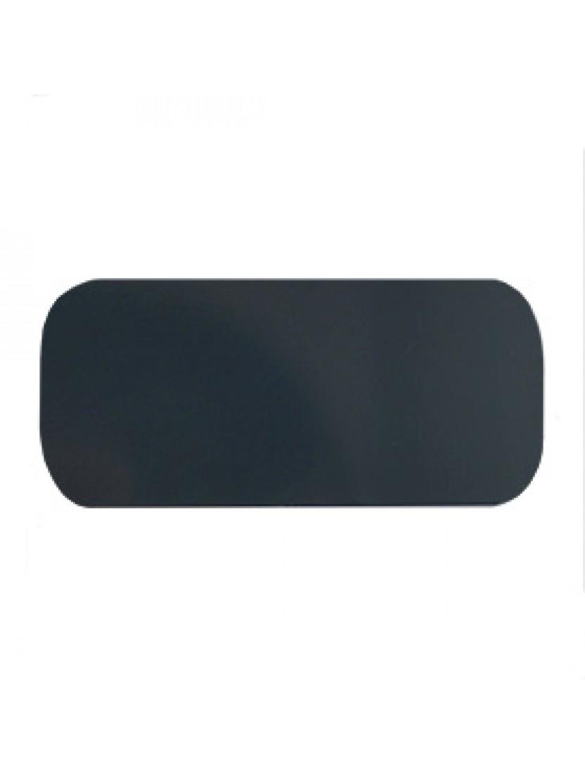 Автоматические горизонтальные алюминиевые жалюзи 25 мм серый металлик