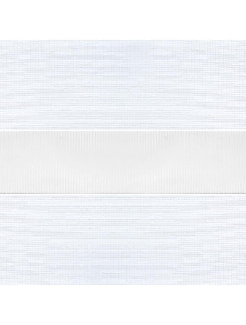 Рулонные жалюзи Зебра Уни-2 Лотос белый