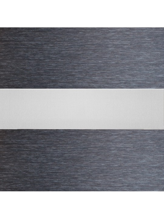 Рулонные жалюзи Зебра Уни-2 Стоун БИО графит