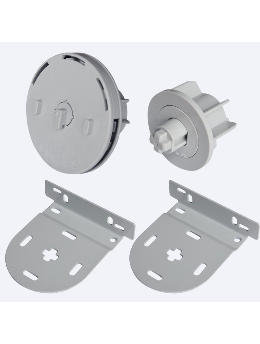Механизм управления цепь 45 мм комплект, серый