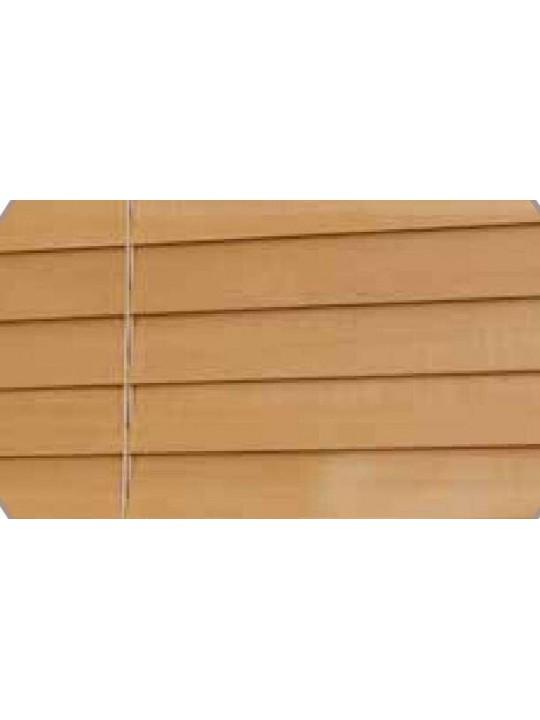 Горизонтальные деревянные жалюзи 25 мм Светлая вишня