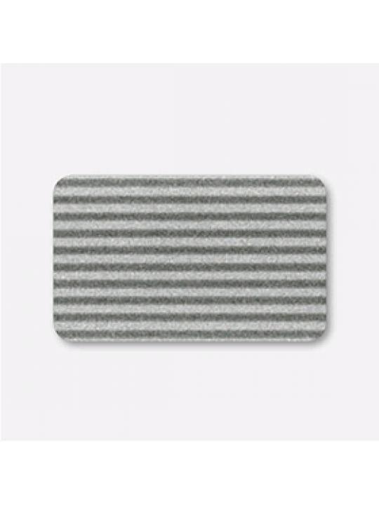 Межрамные горизонтальные жалюзи 25 мм черно-серый
