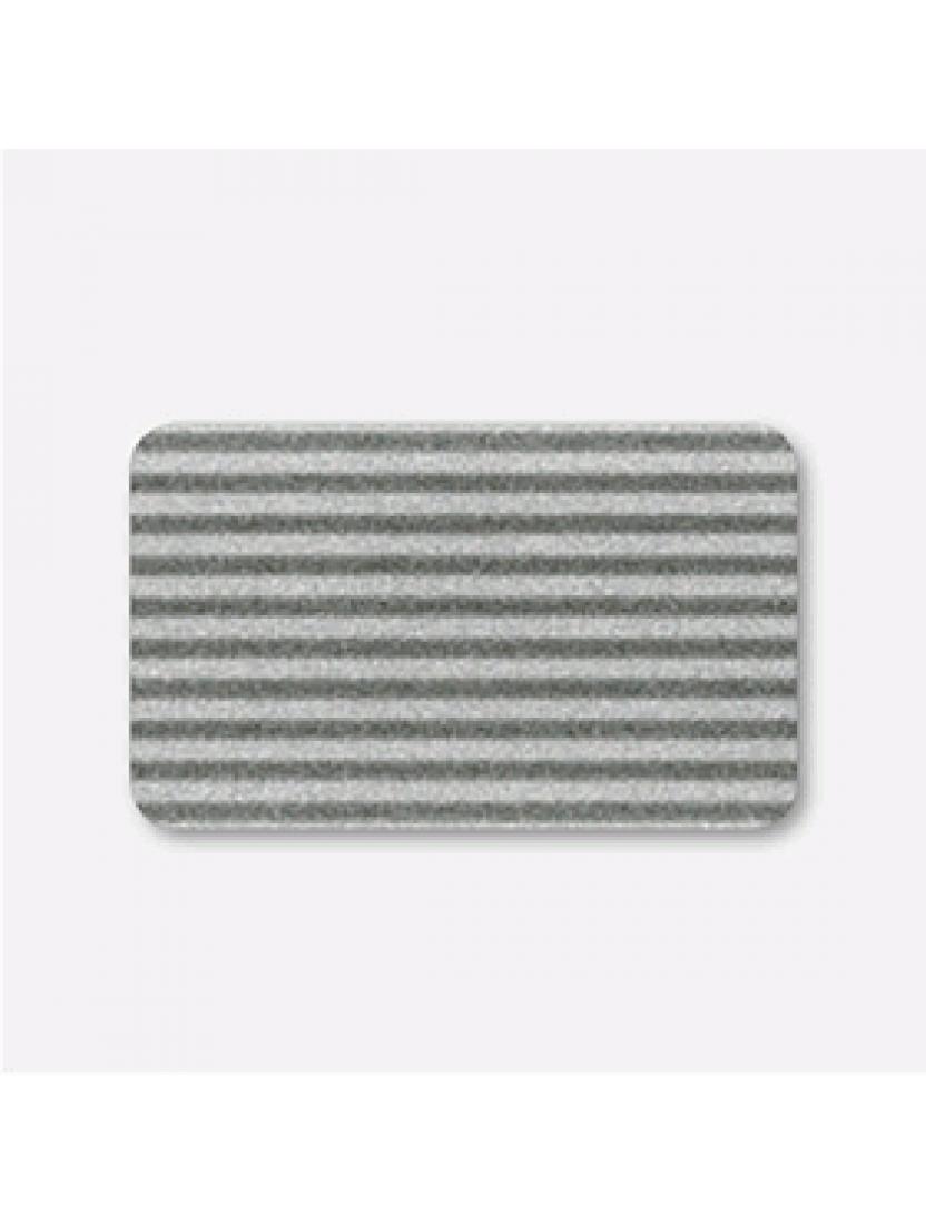 Горизонтальные алюминиевые жалюзи 25 мм черно-серый