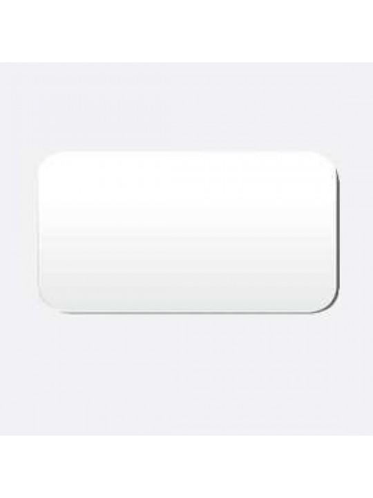 Межрамные горизонтальные жалюзи 25 мм белый матовый