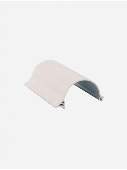Короб белый UNI ПВХ 1м