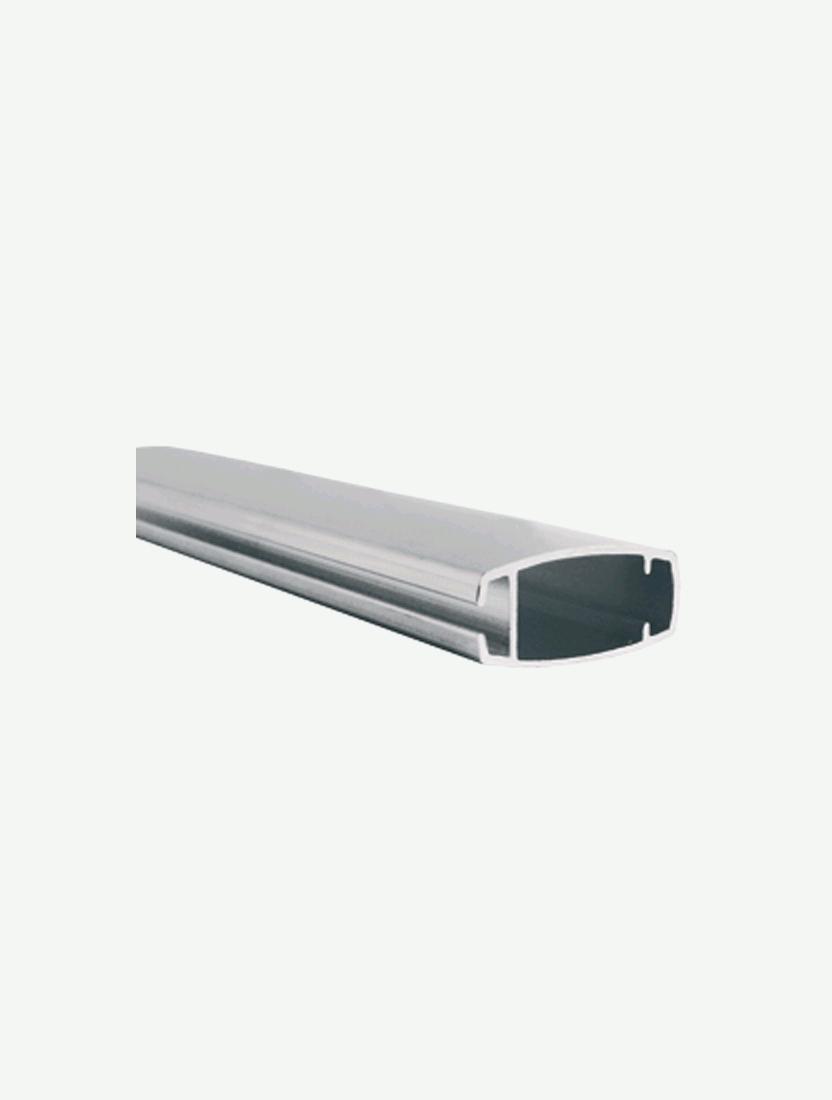 Рейка нижняя алюминий под полосу (LVT)