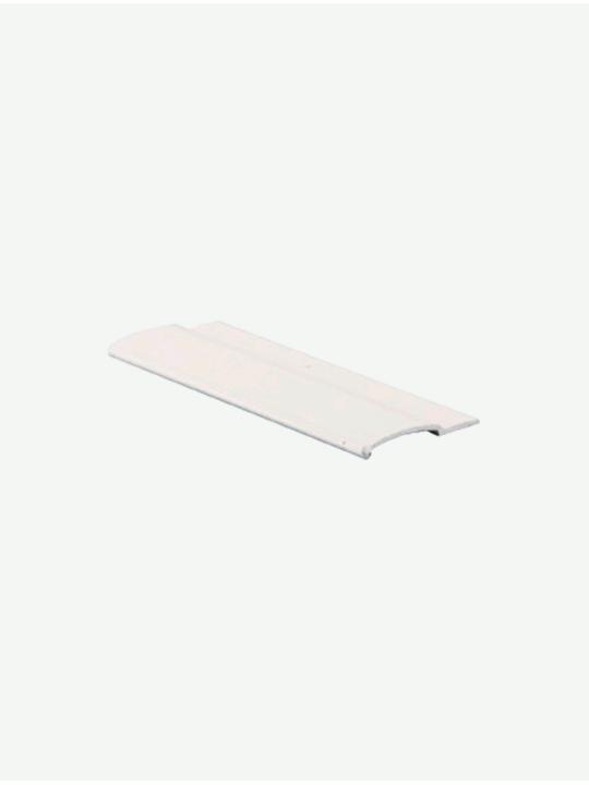 Направляющая плоская, белая UNI ПВХ