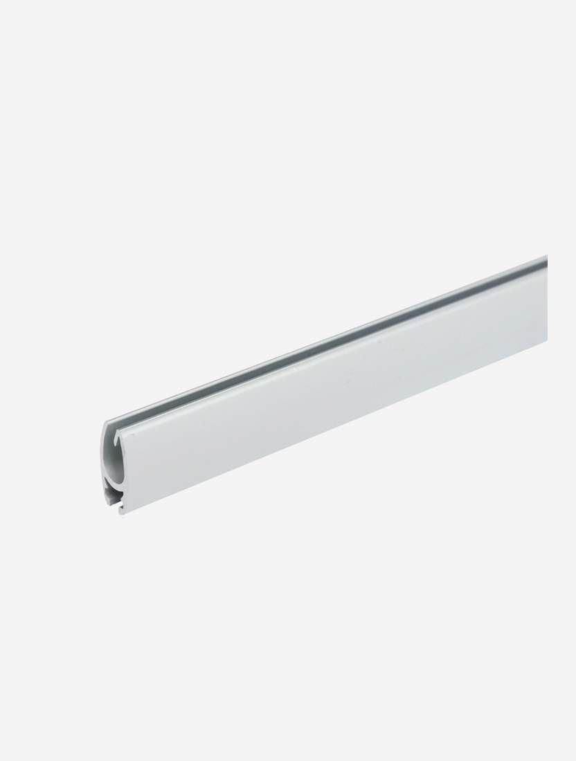 Планка нижняя алюминиевая, серебро