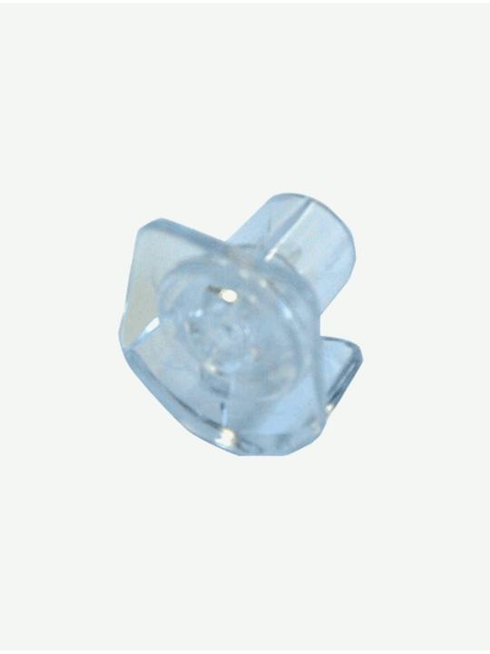 Заглушка для трубки нижней 12 мм прозрачная, Зебра