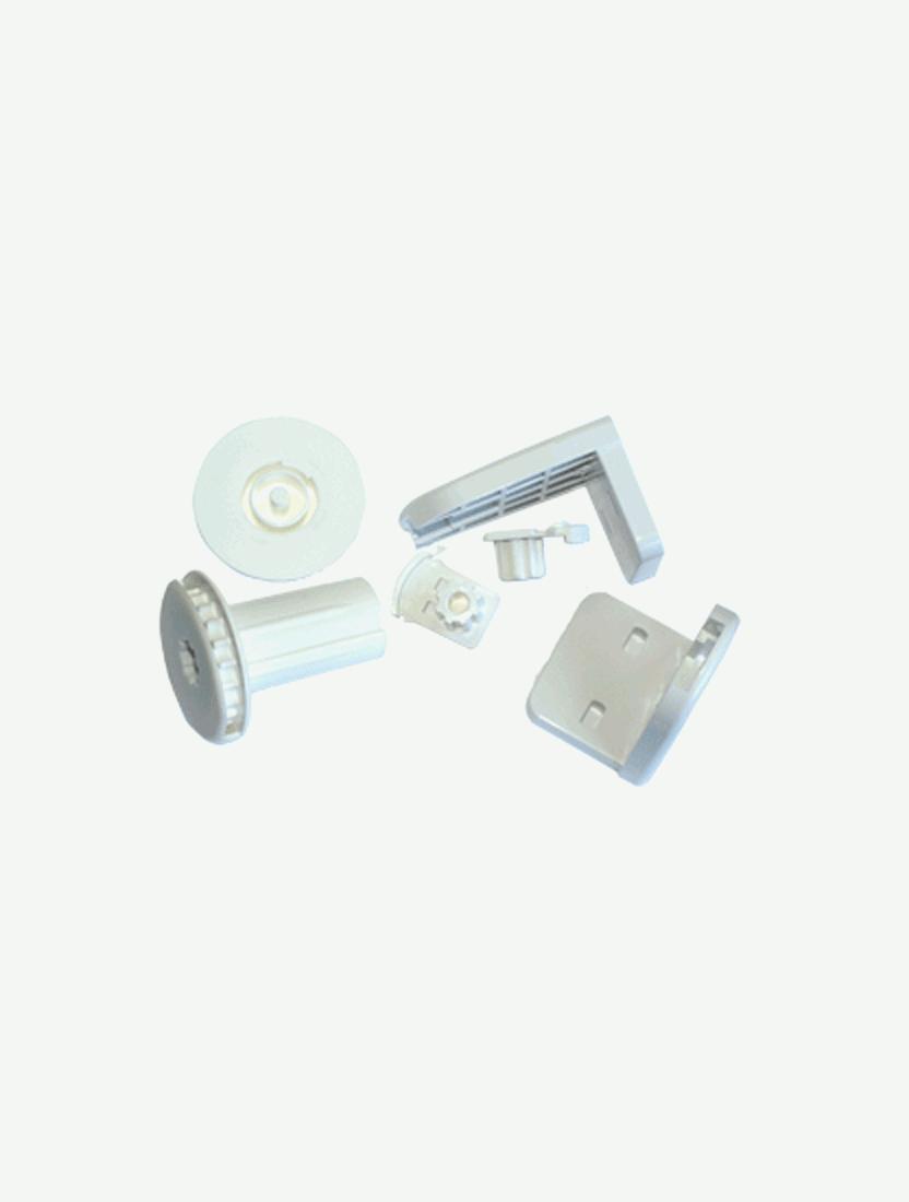 Механизм MGS 25, зебра, комплект, белый