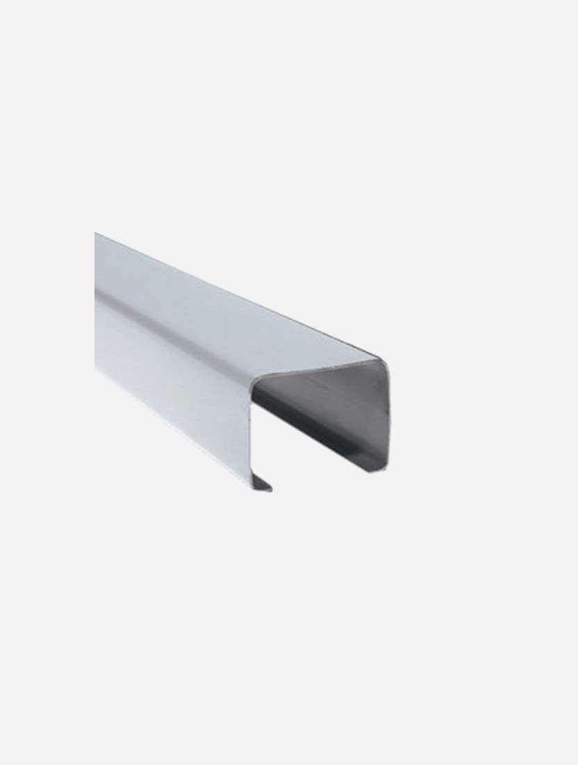 Карниз верхний Магнум 4м, серый