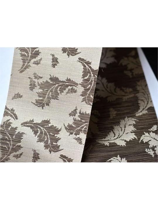 Вертикальные тканевые жалюзи Ливс темно-коричневый