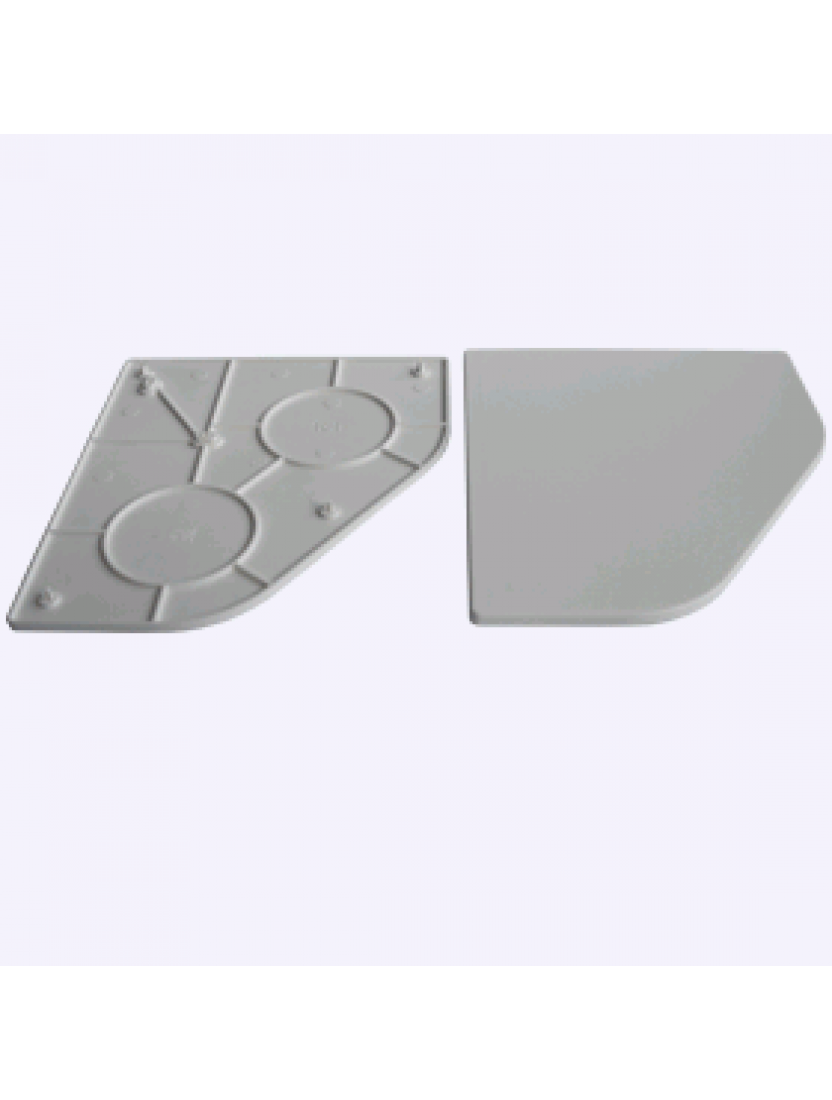 Крышка двойного кронштейна 45 (комплект)