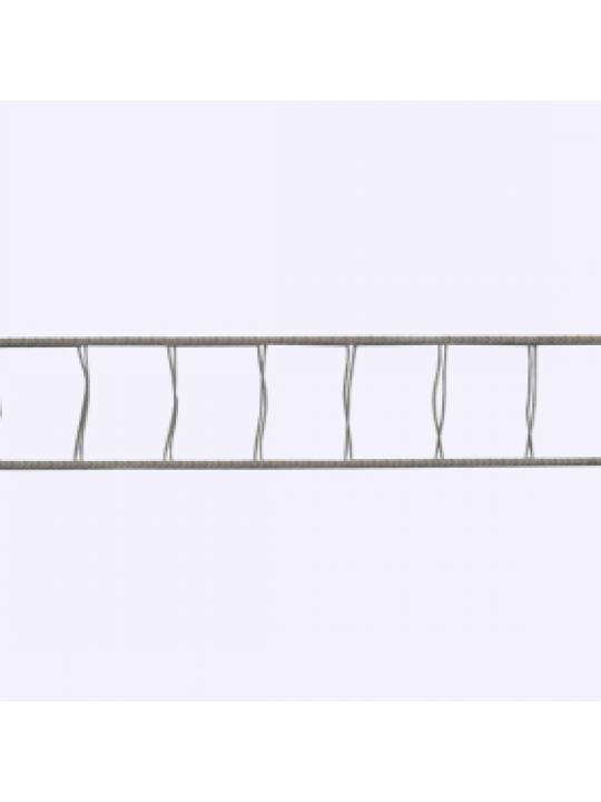 Лесенка для ГКС Венус 25мм 18x28, т.-серая
