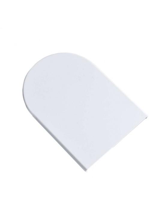 Крышка кронштейна плоская 59х51 мм (Benthin L), белая