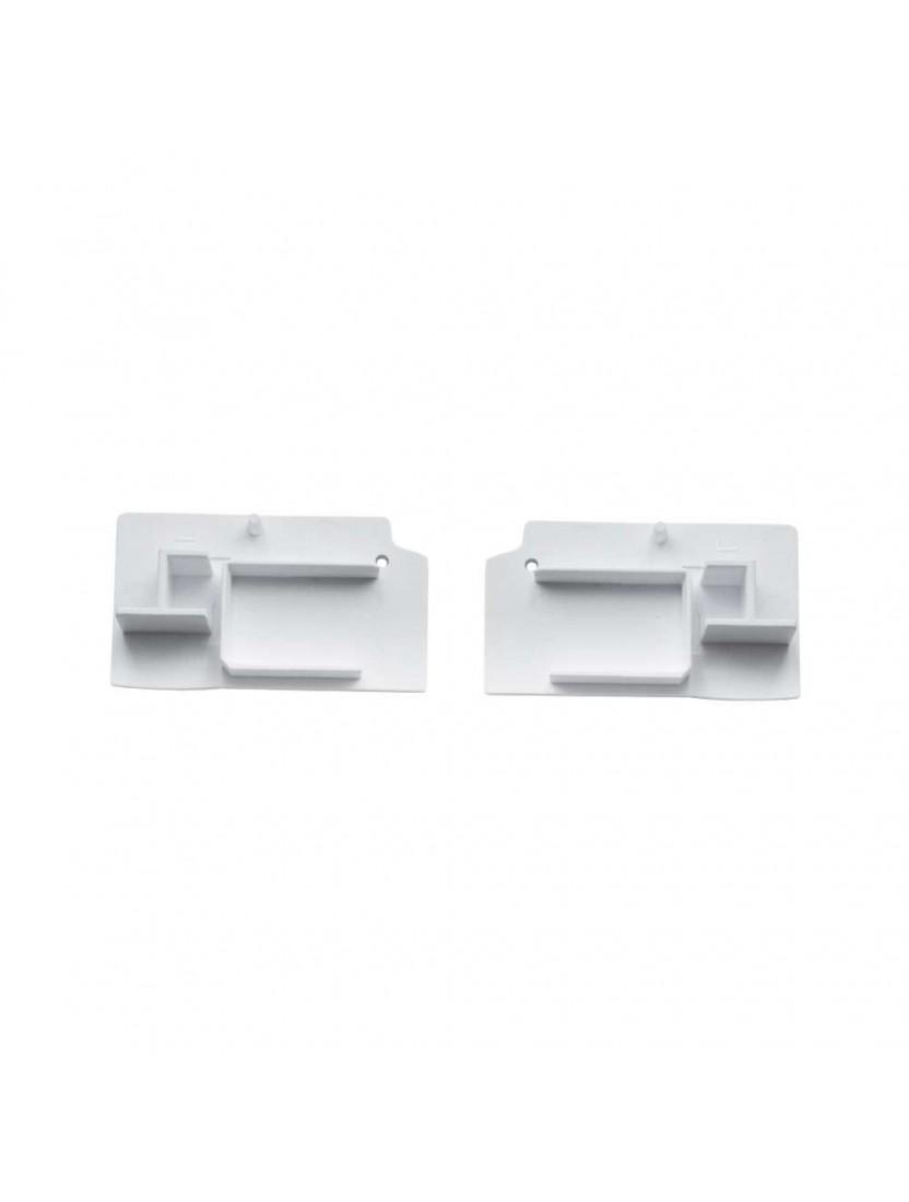 Заглушка для направляющей (серия М), белая (2 шт)