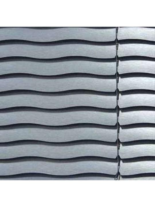 Горизонтальные алюминиевые жалюзи 35 мм серый