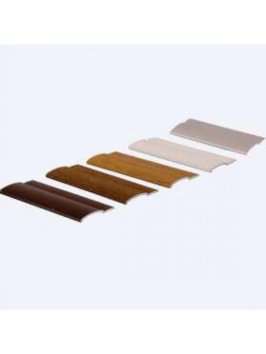 Направляющая плоская, серебро, UNI, 4м