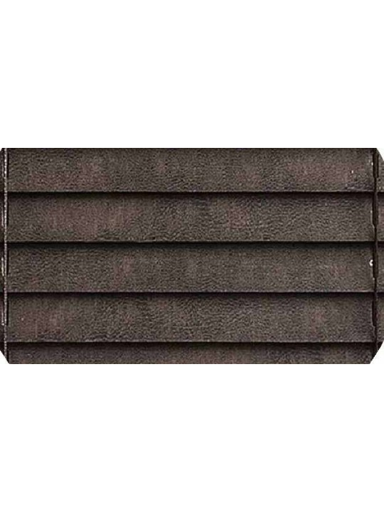 Горизонтальные деревянные жалюзи 25 мм Шагрень темно-коричневый