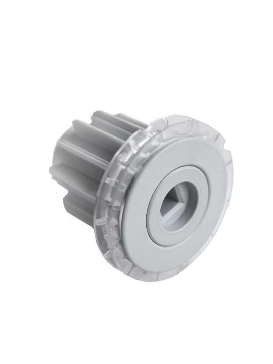 Заглушка в трубу 43 мм регулируемая (для модели MONO М), серая