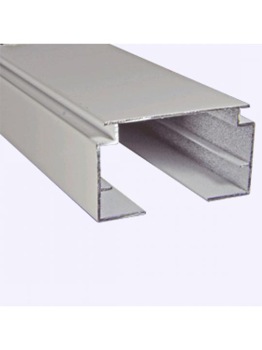 Профиль алюминиевый для вертикальных жалюзи, белый, 34, 5м