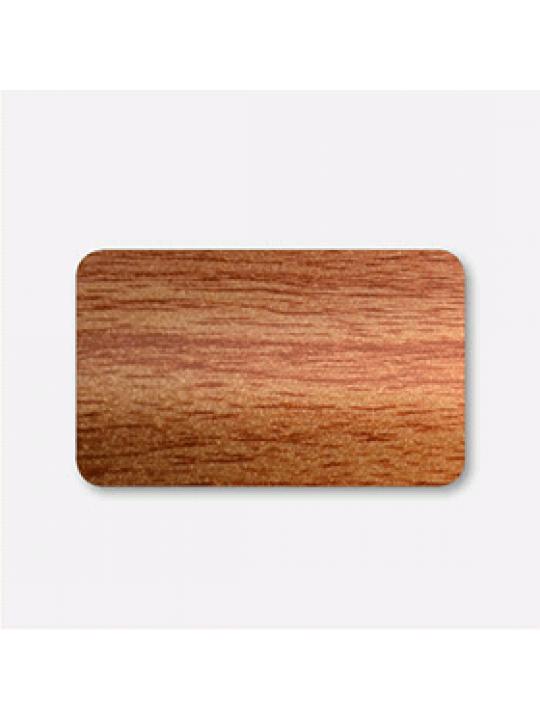 Горизонтальные алюминиевые жалюзи 25 мм коричневый под дерево