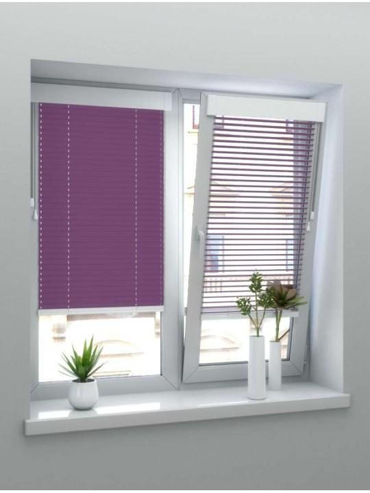 Горизонтальные алюминиевые жалюзи Венус темно-фиолетовый