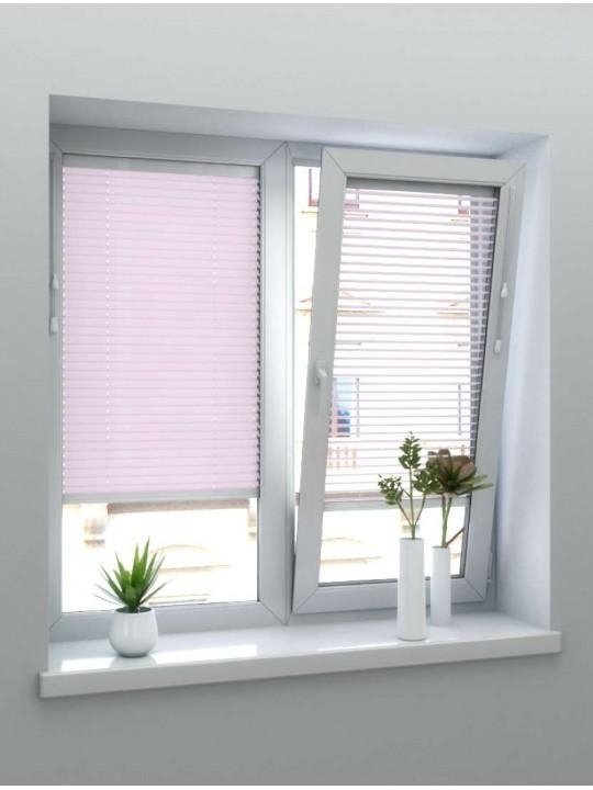 Горизонтальные алюминиевые жалюзи 25 мм светло-розовый