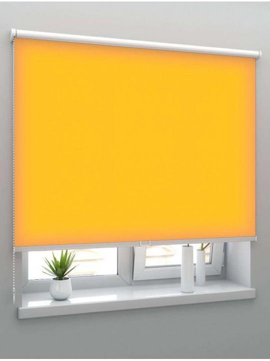 Рулонные шторы Louvolite Альфа светло-оранжевые