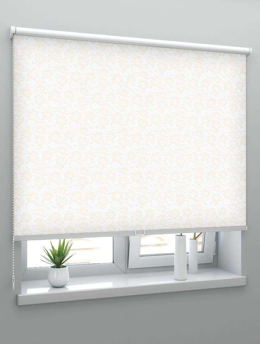 Рулонные шторы Louvolite Камелия персиковый
