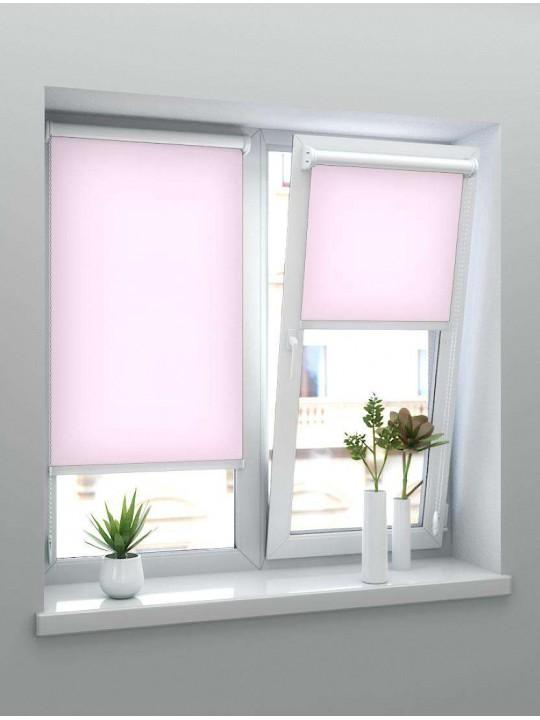 Минирулонные тканевые жалюзи Челси розовый