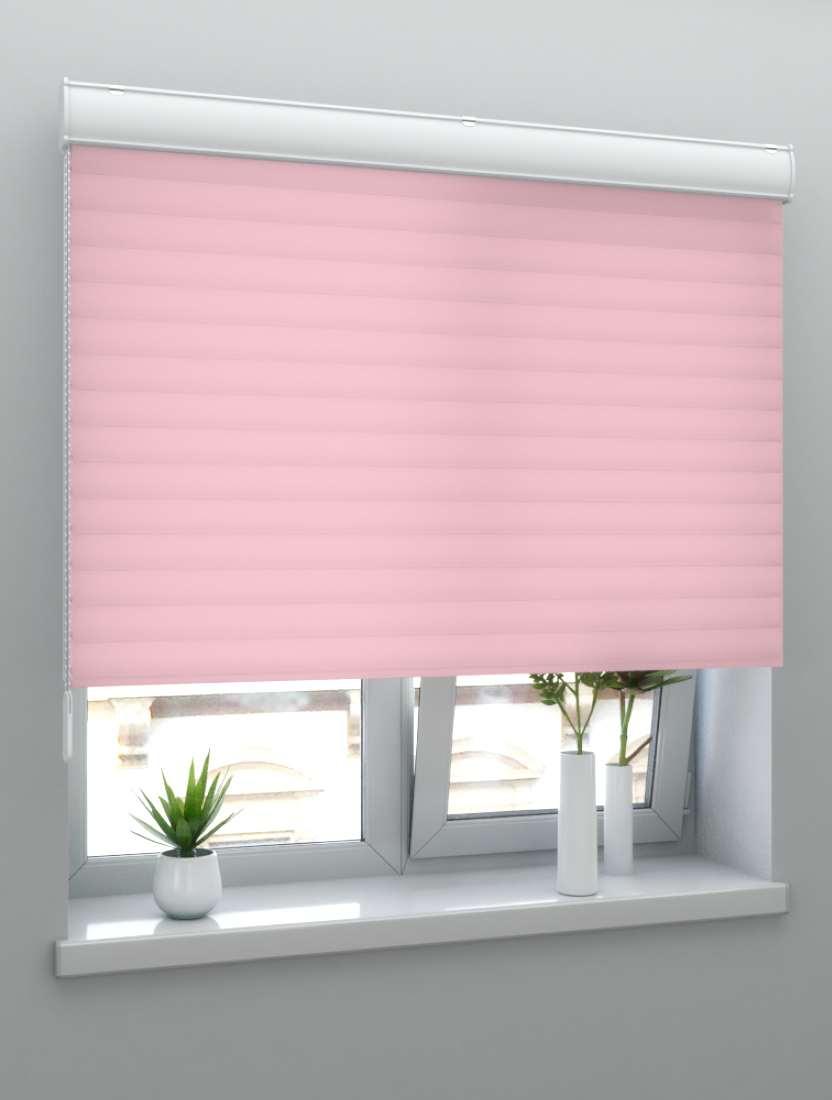 Жалюзи Мираж 25 мм Дуэт розовый