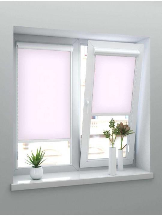 Рулонные тканевые жалюзи Уни-1 Альфа розовый