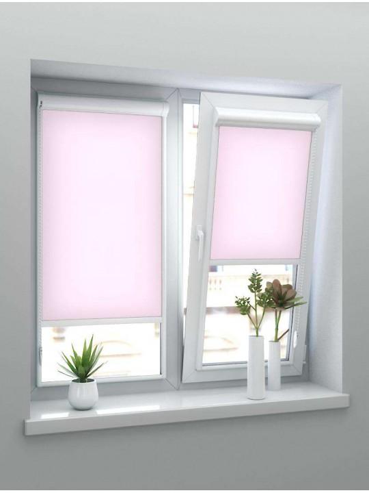 Рулонные тканевые жалюзи Уни-2 Челси розовый