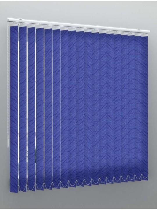 Вертикальные тканевые жалюзи Бали синий