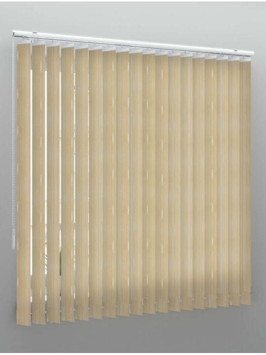 Вертикальные веревочные жалюзи Бриз светло-коричневый
