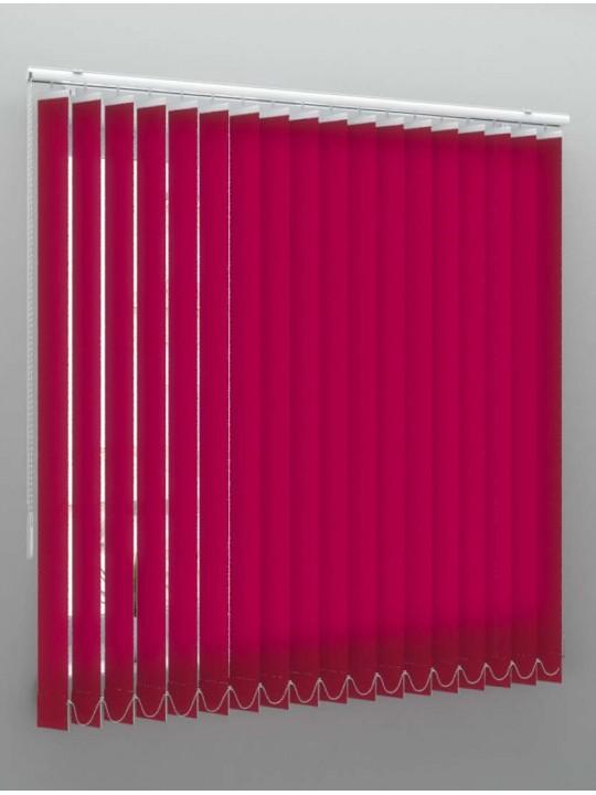 Вертикальные тканевые жалюзи Кёльн красный