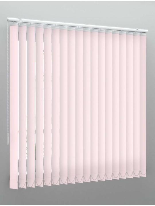 Вертикальные тканевые жалюзи Мальта светло-розовый