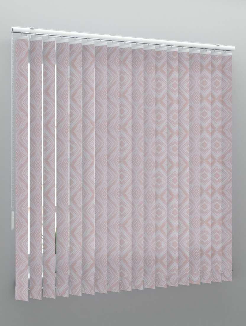 Вертикальные тканевые жалюзи Венера темно-розовый