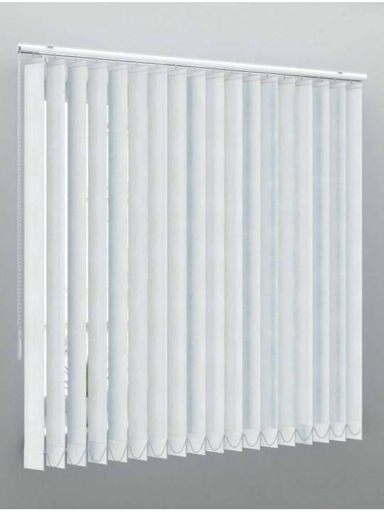 Вертикальные пластиковые жалюзи Фрост серебро