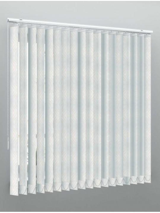 Вертикальные пластиковые жалюзи Мрамор 2 белый