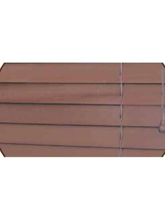 Горизонтальные деревянные жалюзи 50 мм Красное дерево