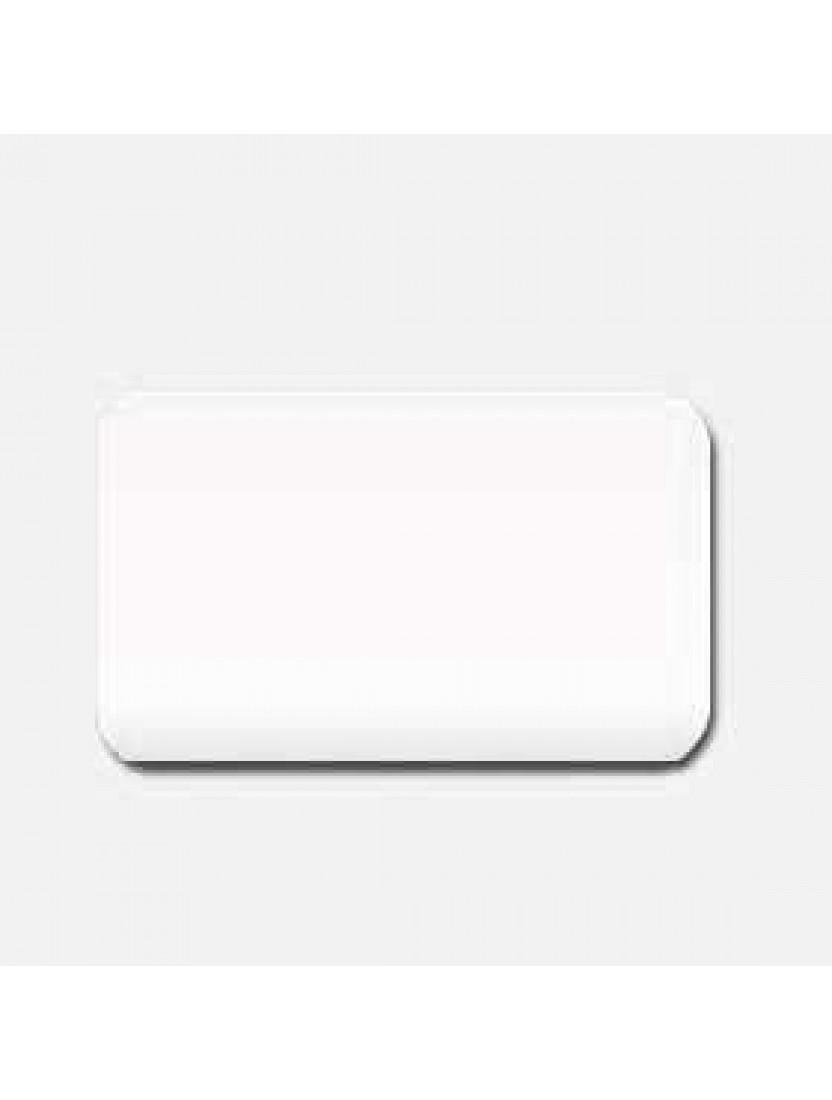 Межрамные горизонтальные жалюзи 25 мм белый глянец