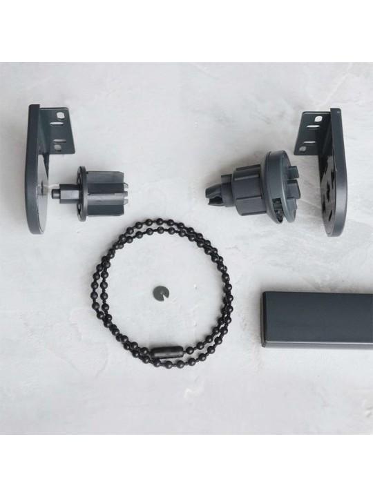 Цепь управления сплошная, пластик (LVT), черная